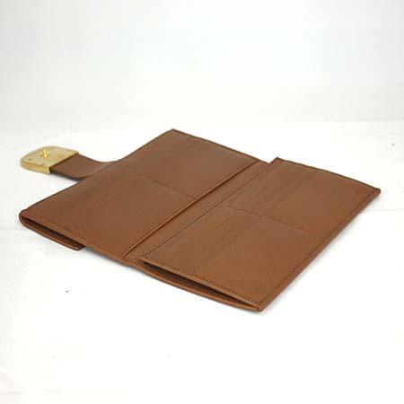 Fendi(펜디) 8M0279 카멜 레더 금장로고 장지갑