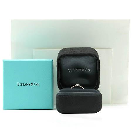 Tiffany(티파니) PT950(플래티늄) 0.16 케럿  다이아 BEZET 웨딩 반지-5호 [동대문점] 이미지3 - 고이비토 중고명품