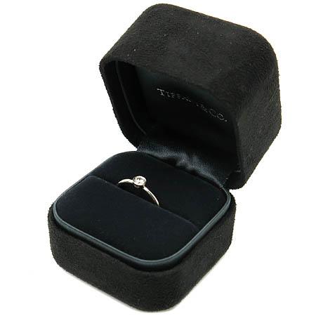 Tiffany(티파니) PT950(플래티늄) 0.16 케럿  다이아 BEZET 웨딩 반지-5호 [동대문점] 이미지4 - 고이비토 중고명품