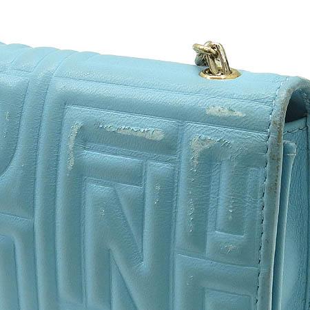 Fendi(펜디) 8M0219 금장 로고 래더 클러치 겸 장지갑 겸 금장 크로스백