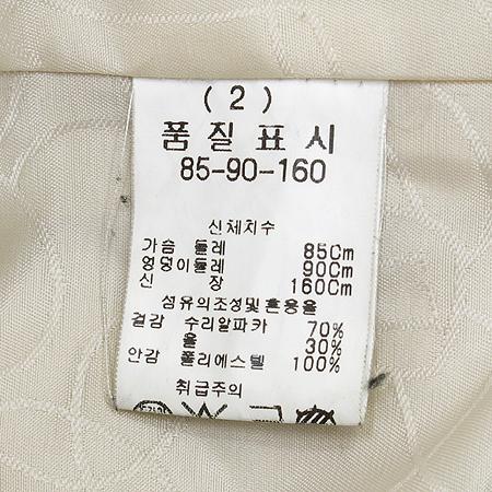 LYNN(린) 알파카 혼방 코트 이미지4 - 고이비토 중고명품