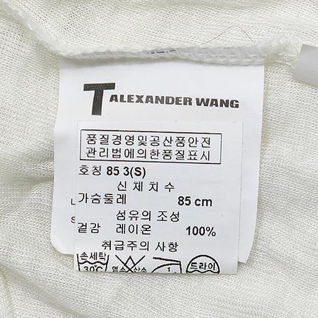 ALEXANDER WANG(알렉산더 왕) 민소매 후드 원피스