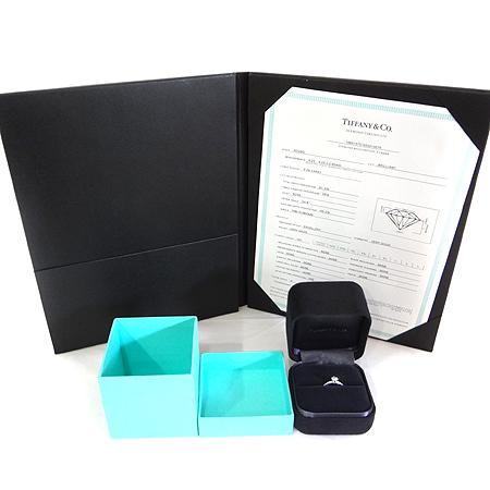 Tiffany(티파니) PT950(플래티늄) 0.28CT(캐럿) H컬러 VS1 다이아 웨딩 반지 - 6호 [일산매장] 이미지5 - 고이비토 중고명품