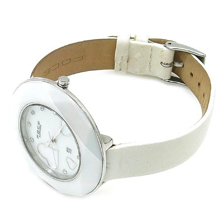 FOCE(포체) F367LS 라운드 가죽 밴드 자개판 여성용 시계 [강남본점] 이미지3 - 고이비토 중고명품