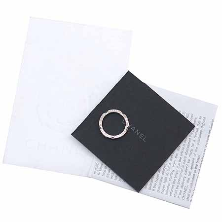 Chanel(샤넬) J3092 18K 화이트골드 블랙 세라믹 울트라 반지 [명동매장] 이미지2 - 고이비토 중고명품