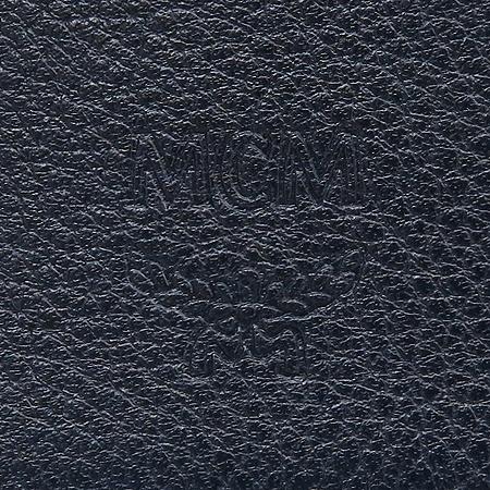 MCM(엠씨엠) MXL1SUL02 네이비 레더 스티치 남성 장지갑