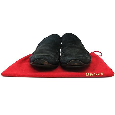 Bally(발리) 블랙 래더 스웨이드 남성용 구두