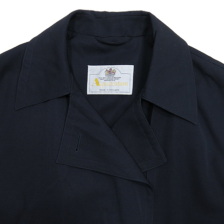 AQUASCUTUM(아쿠아스큐텀) 트렌치 코트(허리띠 SET)