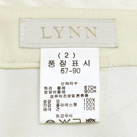 LYNN(린) 프릴 스커트(배색:실크 100)