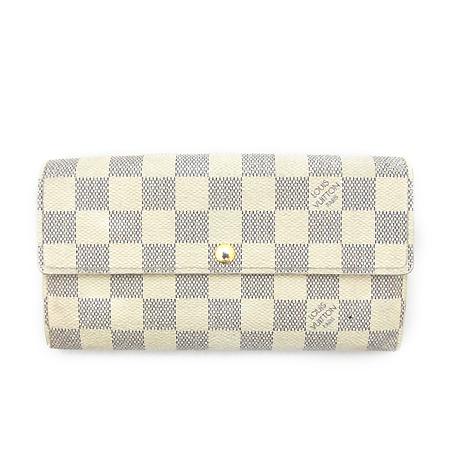 Louis Vuitton(루이비통) N61735 다미에 아주르 캔버스 사라 월릿 장지갑 [부천 현대점]