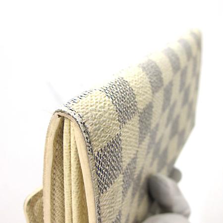 Louis Vuitton(루이비통) N61735 다미에 아주르 캔버스 사라 월릿 장지갑 [부천 현대점] 이미지4 - 고이비토 중고명품