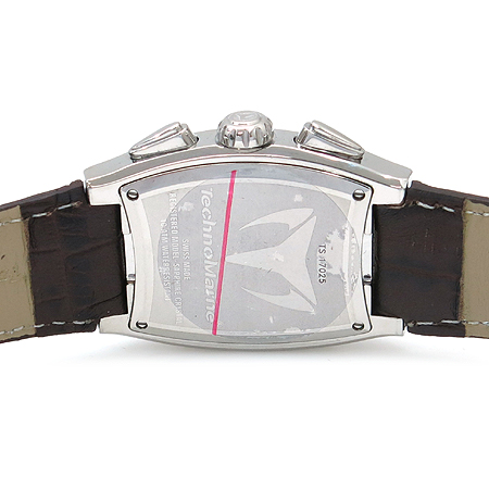 TechnoMarine(테크노마린) TS 17025 베젤 다이아 크로노그래프 여성용 시계