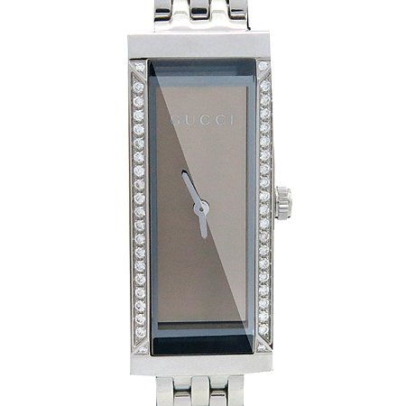 Gucci(구찌) G FRAME YA127508 베젤 다이아 사각 프레임 여성용 시계