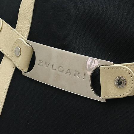 Bvlgari(불가리) GCMEEA 패브릭 화이트 래더 트리밍 숄더백 [부산본점]