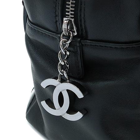 Chanel(샤넬) TIMELESS(타임리스) 은장 COCO 지퍼 장식 램스킨 체인 토트백 [인천점]