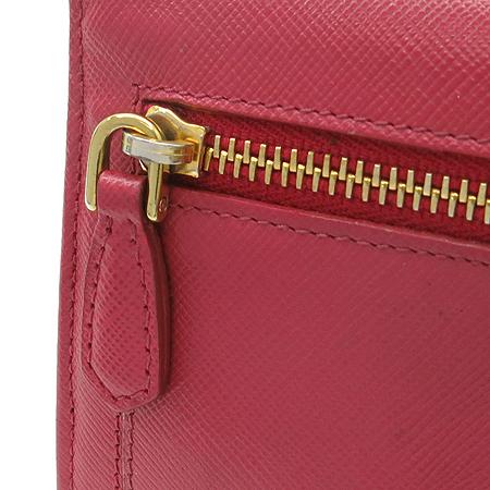 Prada(프라다) 1M1132 사피아노 리본장식 금장로고 장지갑