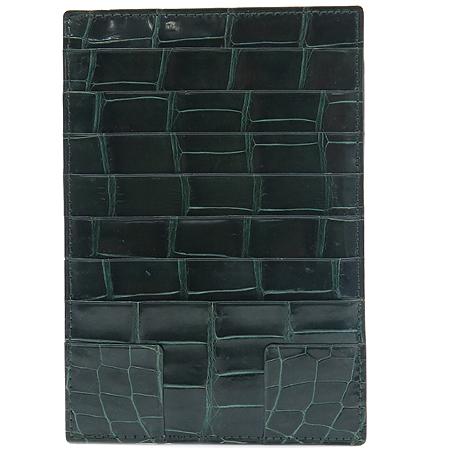 COLOMBO(콜롬보) 크로커다일 래더 동전지갑 겸 카드지갑 이미지2 - 고이비토 중고명품