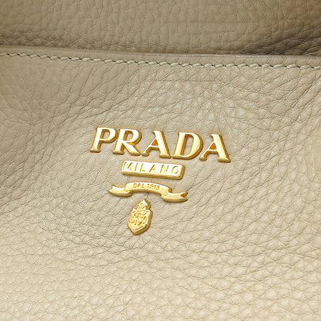 Prada(프라다) BR4393 베이지 레더 금장 로고 2WAY 이미지4 - 고이비토 중고명품