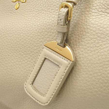 Prada(프라다) BR4393 베이지 레더 금장 로고 2WAY 이미지5 - 고이비토 중고명품