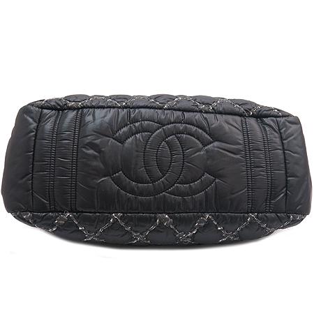 Chanel(샤넬) A50632 투톤스티치 나일론 마트라쎄 은장 체인 숄더백