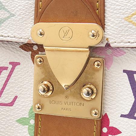 Louis Vuitton(루이비통) M92643 모노그램 멀티 화이트 스피디30 토트백 [대구반월당본점] 이미지4 - 고이비토 중고명품