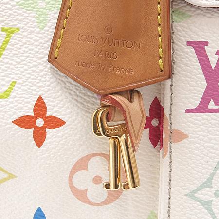 Louis Vuitton(루이비통) M92643 모노그램 멀티 화이트 스피디30 토트백 [대구반월당본점] 이미지5 - 고이비토 중고명품