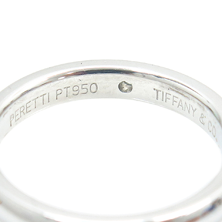 Tiffany(티파니) PT950 (플레티늄) PERETI 1포인트 다이아 반지 - 7호 [대구반월당본점] 이미지3 - 고이비토 중고명품