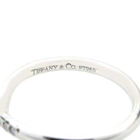 Tiffany(티파니) ELSA PERETTI(엘사퍼레티) 9포인트 다이아 PT950(플래티늄) 반지 - 10.5호