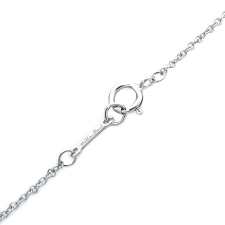 Tiffany(티파니) 18K(750) 화이트골드 파로마 피카소 XO PENDANT 다이아 여성용 목걸이 [압구정매장]