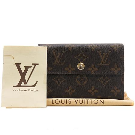Louis Vuitton(루이비통) M60047 모노그램 캔버스 알렉산드라 월릿 중지갑