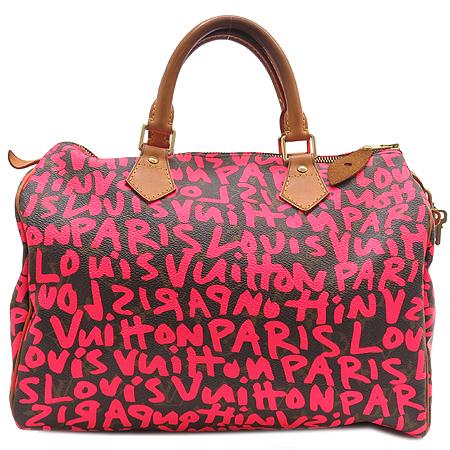 Louis Vuitton(루이비통) M93705 모노그램 캔버스 그래피티 스피디30 토트백