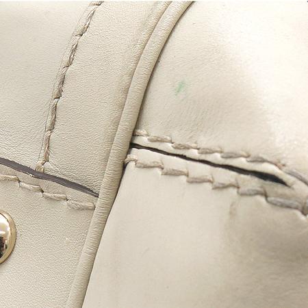 Gucci(구찌) 189883 GG 로고 자가드 금장 리본 장식 토트백