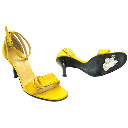 Ninesix(나인식스) 옐로우 레더 여성용 샌들 구두 이미지2 - 고이비토 중고명품