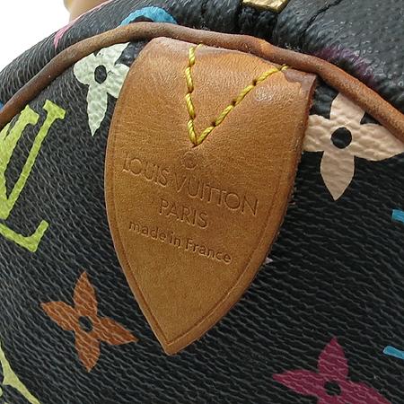 Louis Vuitton(루이비통) M92642 모노그램 멀티컬러 블랙 멀티스피디 30 토트백 이미지5 - 고이비토 중고명품
