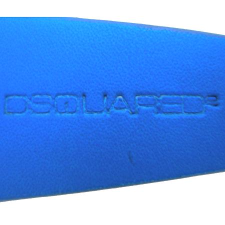 DSQUARED2(디스퀘어드2) BE4042 13S/S 블루 레더 남성용 스키니 벨트