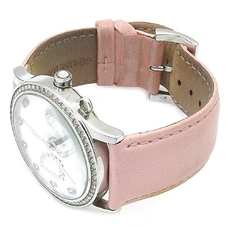D&G(돌체&가바나) 라운드 장식 가죽밴드 여성용 시계