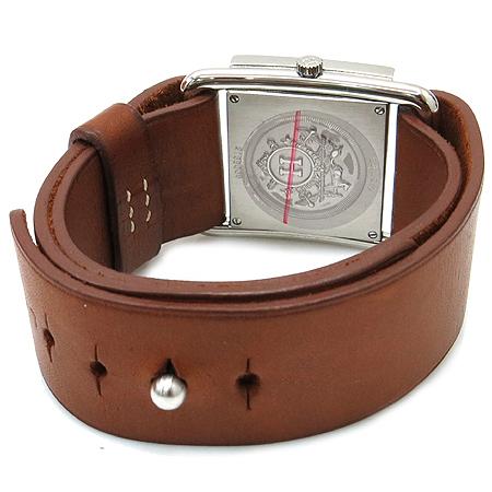 Hermes(에르메스) BA1.510 바레니아 가죽 밴드 시계