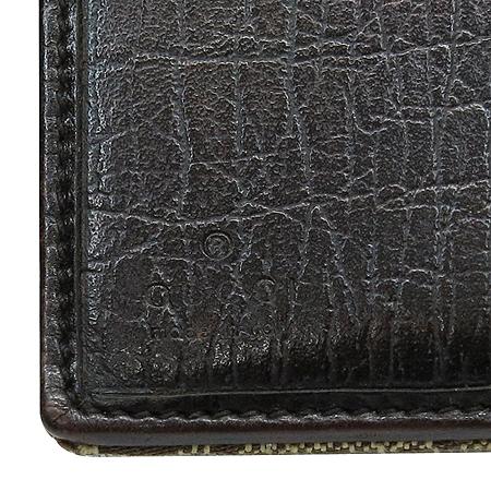 Gucci(구찌) 138030 GG 로고 자가드 테슬 장식 반지갑
