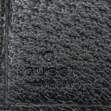 Gucci(구찌) 112664 블랙 GG 로고 자가드 중지갑 이미지4 - 고이비토 중고명품