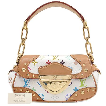 Louis Vuitton(루이비통) M40127 모노그램 멀티 컬러 화이트 마릴린 토트백