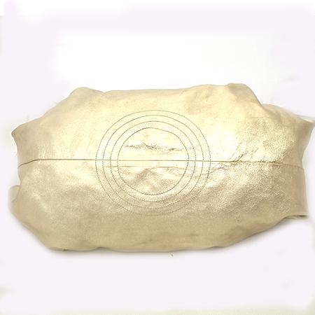 Loewe(로에베) 309.12.105 메탈릭 썸머 골드 나파 브리사 토트백