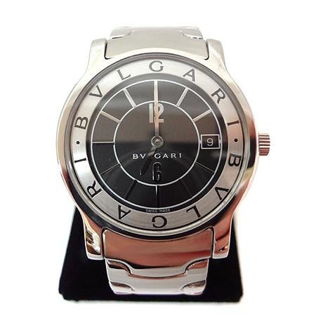 Bvlgari(불가리) ST 35 BSSD/N 솔로템포 쿼츠 남성용 스틸 시계 [일산매장]