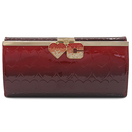 LOVCAT(러브캣) 로고장식 페이던트 장지갑