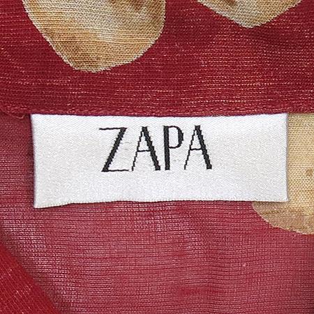 ZAPA 롱 플라워프린팅 브라우스