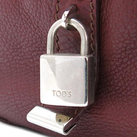 Tod's(토즈) 원포켓 버건디 컬러 토트백 이미지5 - 고이비토 중고명품