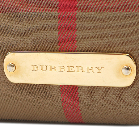 Burberry(버버리) 3806114 미디엄 브리들 하우스 체크 벨트 보스턴 토트백 + 숄더스트랩 [명동매장]