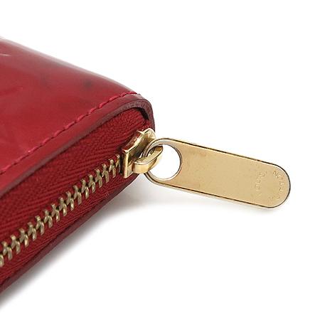 Louis Vuitton(루이비통) M93608 모노그램 베르니 루즈 그라나딘 지피코인퍼스 카드동전 지갑