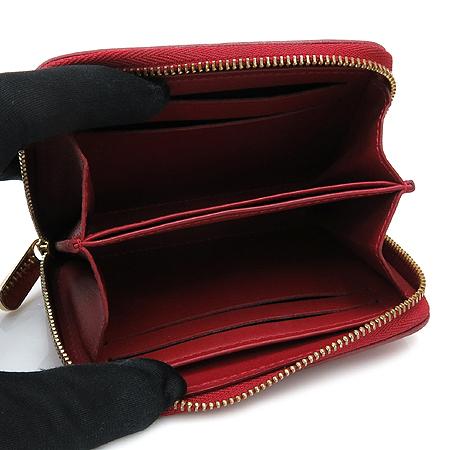 Louis Vuitton(루이비통) M93608 모노그램 베르니 루즈 그라나딘 지피코인퍼스 카드동전 지갑 이미지4 - 고이비토 중고명품