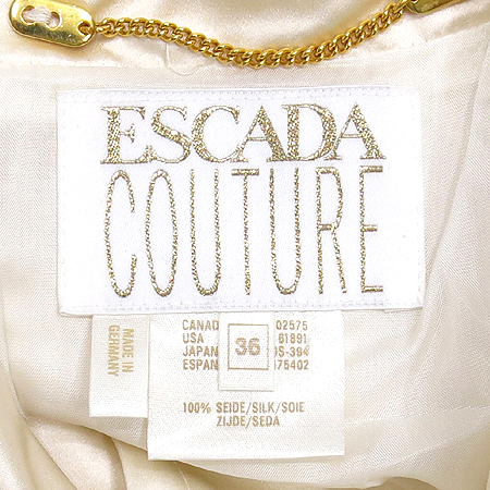 Escada(에스까다) 실크 코트