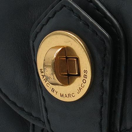 Marc By Marc Jacobs(마크바이마크제이콥스) 블랙 래더 투포켓 토트백 + 숄더스트랩 이미지5 - 고이비토 중고명품